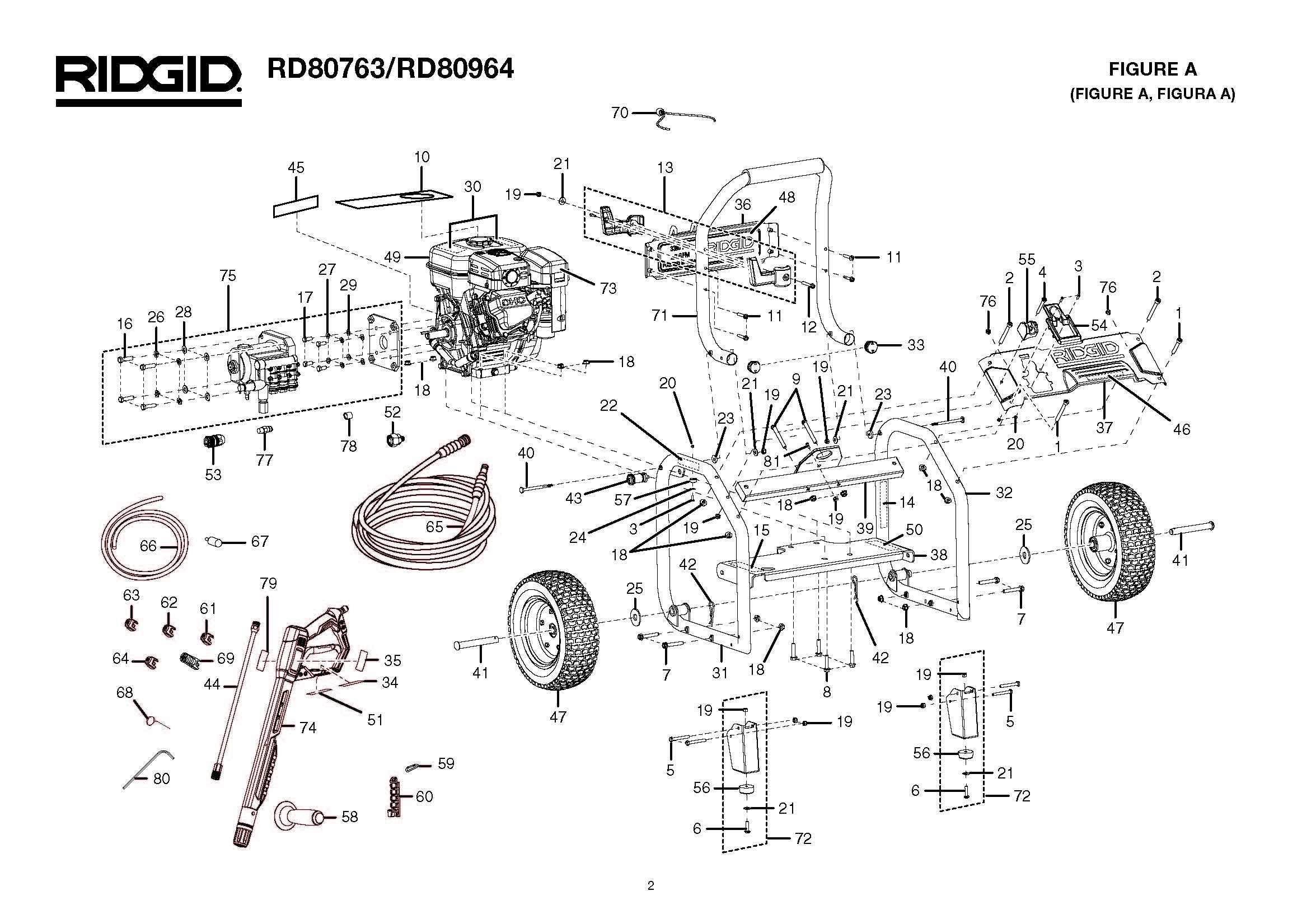 ridgid pressure washer parts diagram 1999 subaru impreza headlight wiring karcher diagrams