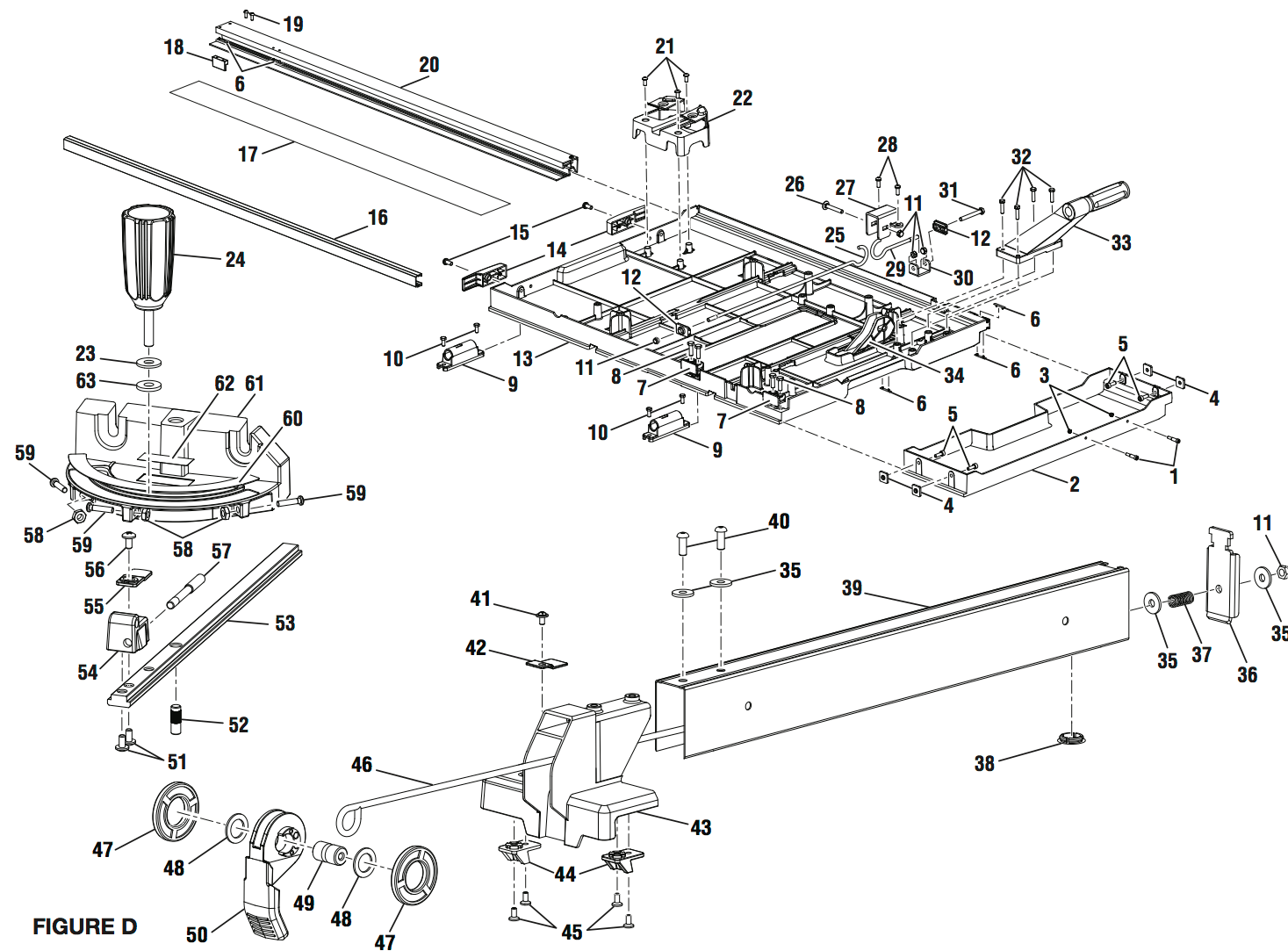 Delta 34 670 Table Saw Wiring Diagram Delta Professional