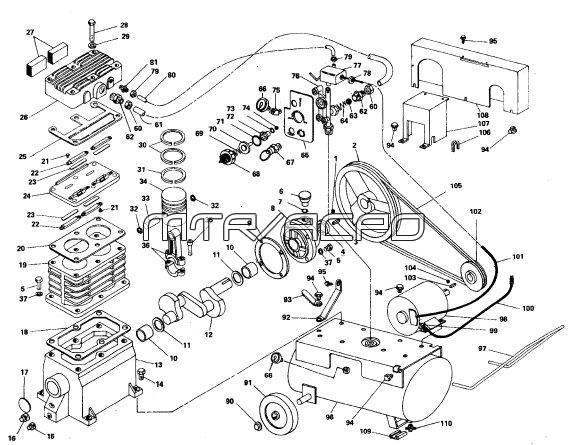 Duromax 16 Hp Wiring Diagram Coleman Powermate Air Compressor Parts