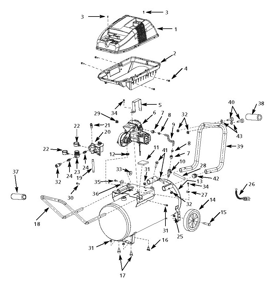 medium resolution of husky air compressor parts husky tools air compressor parts husky air compressor schematics
