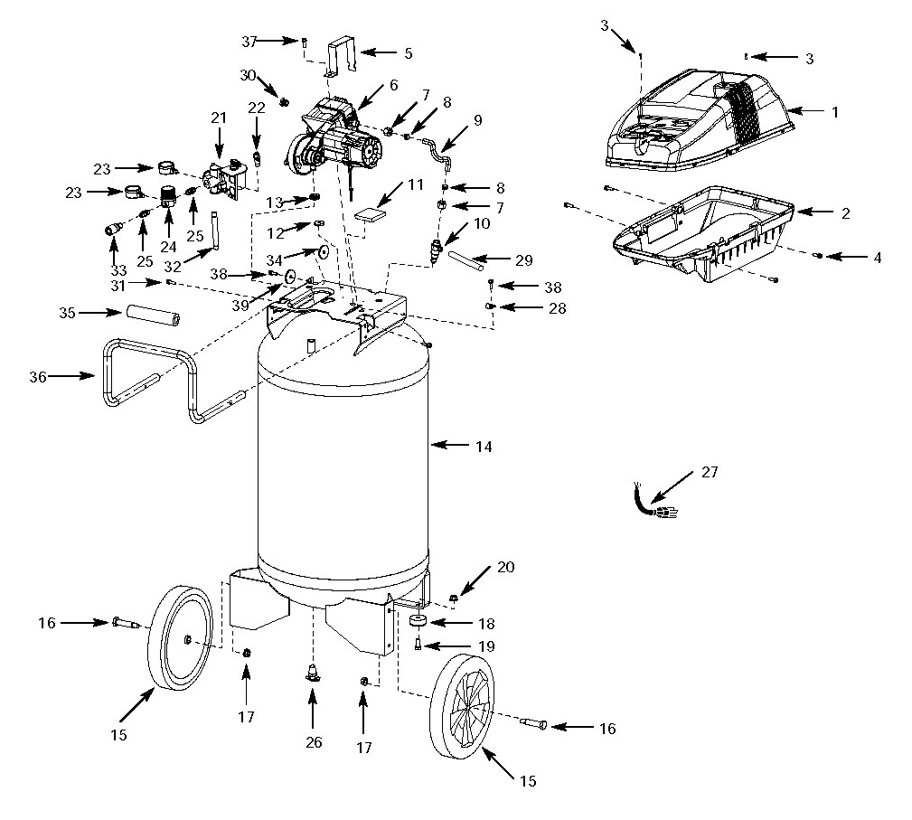 Diagram Ridgid Air Compressor Design : 36 Wiring Diagram