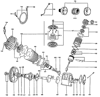 Air Compressor Bleed Valve Bleed Off Valve Wiring Diagram