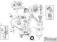 Sears Craftsman 106.175540 Air Compressor Parts