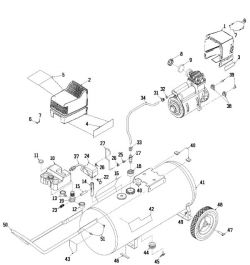 Sears Craftsman 919.165000 Air Compressor Parts