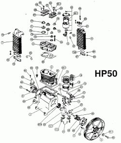 IMC HP50 pumps