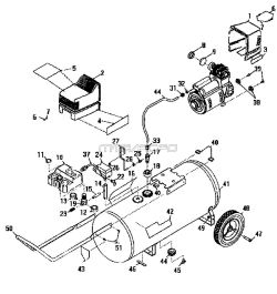 Sears Craftsman 919.165250 Air Compressor Parts