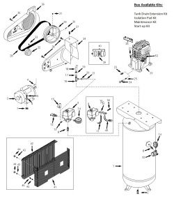Husky VT6314, VT6314HDRB Air Compressor Parts, HUSKY Parts