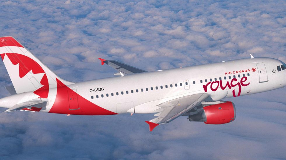 air canada rouge to launch daily flights between calgary. Black Bedroom Furniture Sets. Home Design Ideas