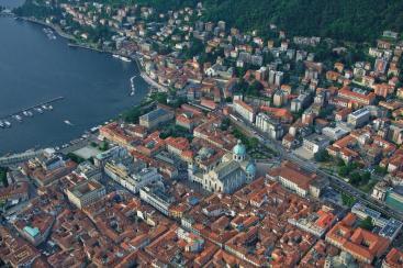 Como aerial photo