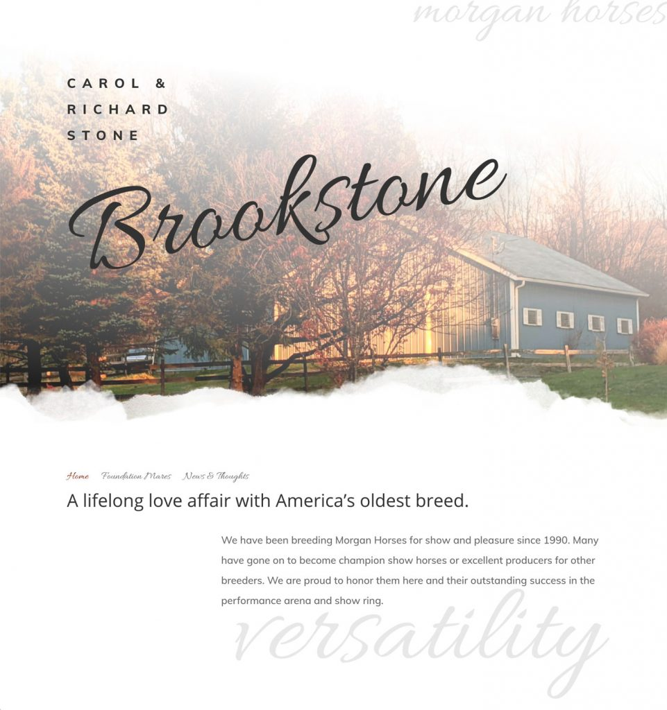 Brookstone Morgan Farm