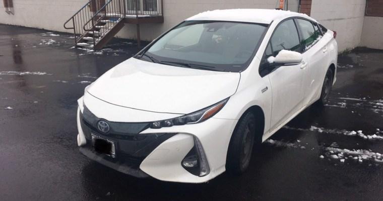 Toyota Prius Prime Front