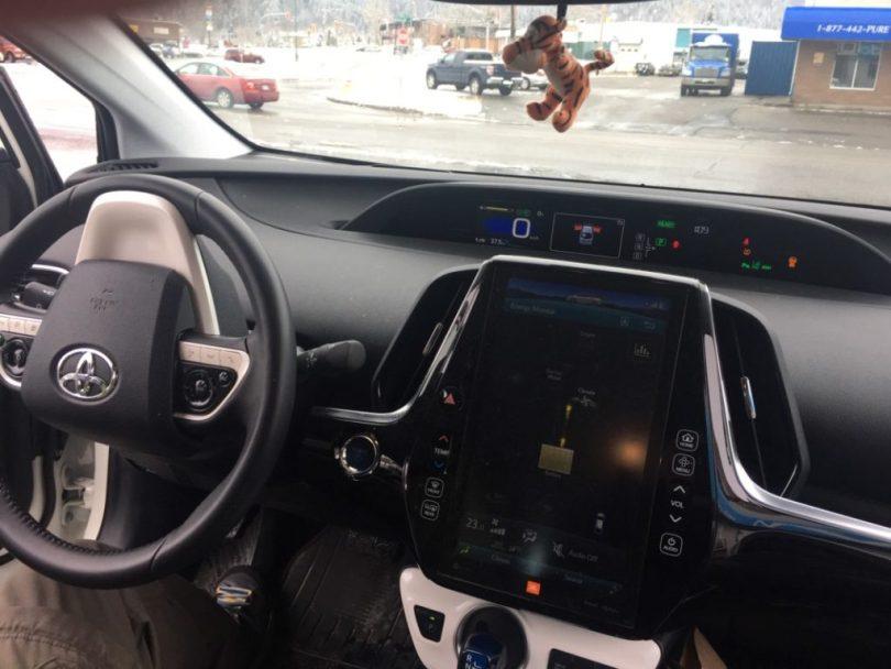 Toyota Prius Prime Interior Dash