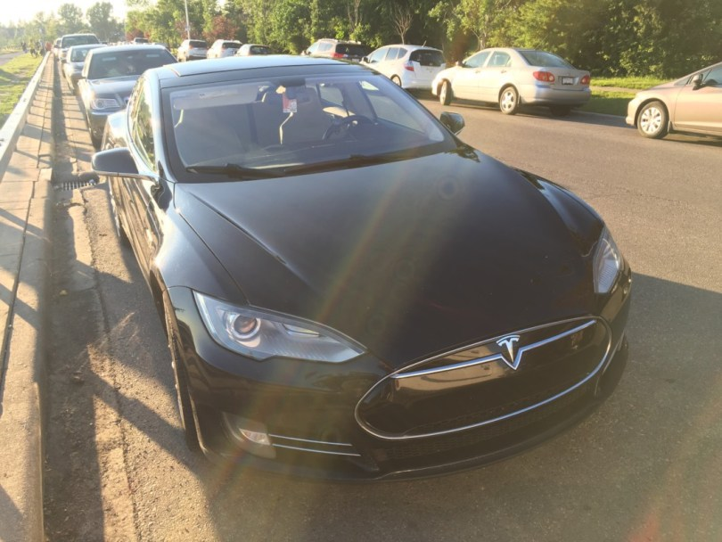 high mileage Tesla model s
