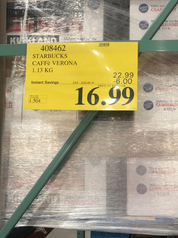Costco Sales Price Tags