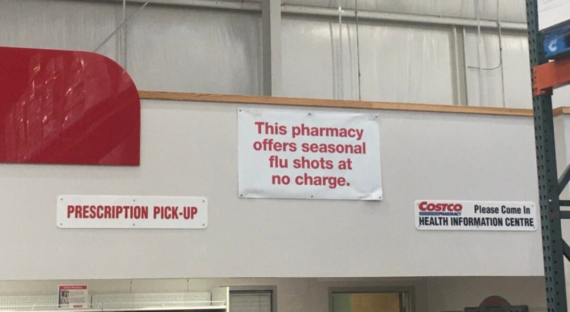 Costco Flu Shot Review
