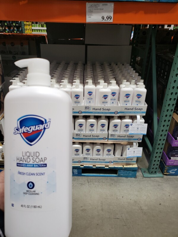 safeguard hand sanitizer costco