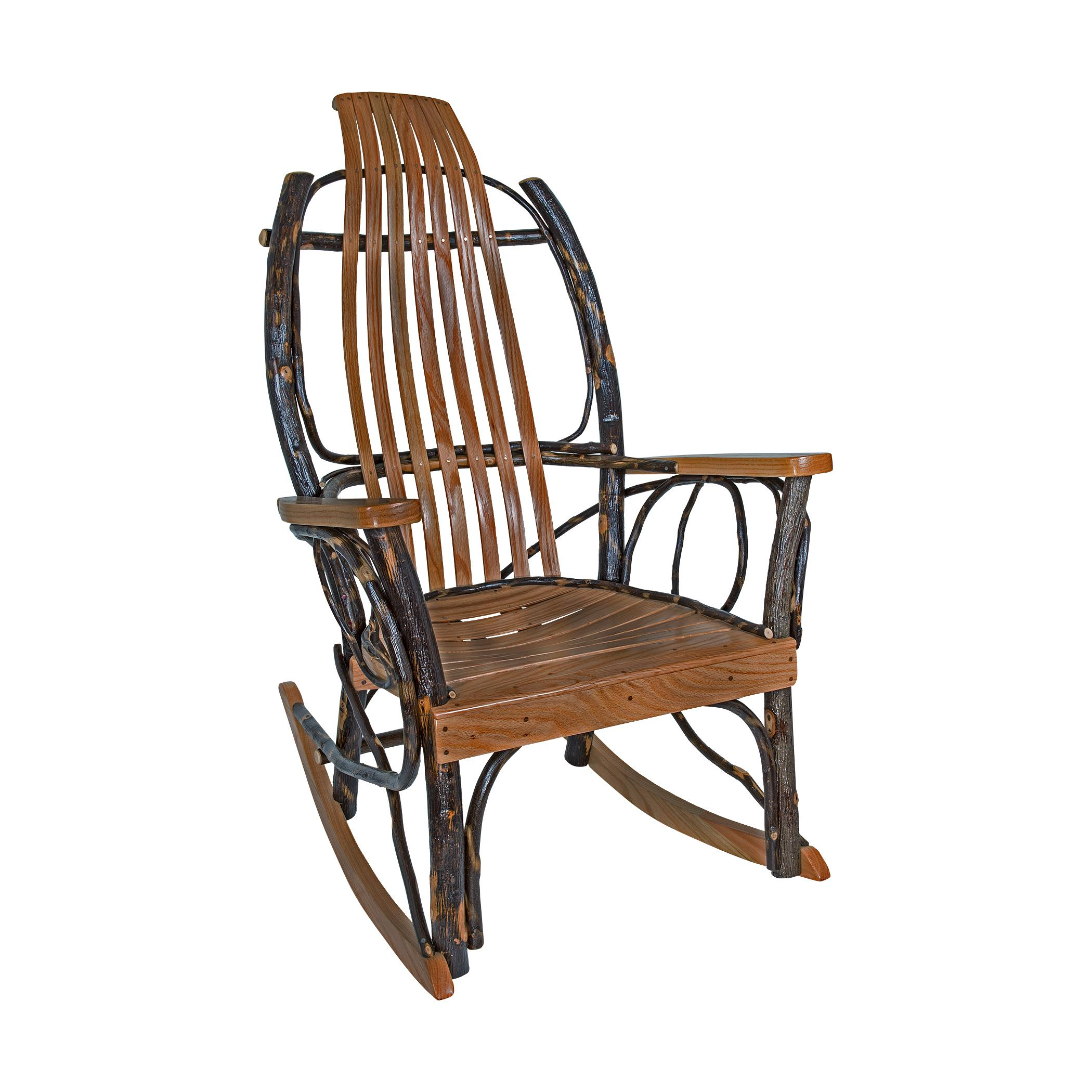 Amish Rocking Chair Amish Rocker With Armrest