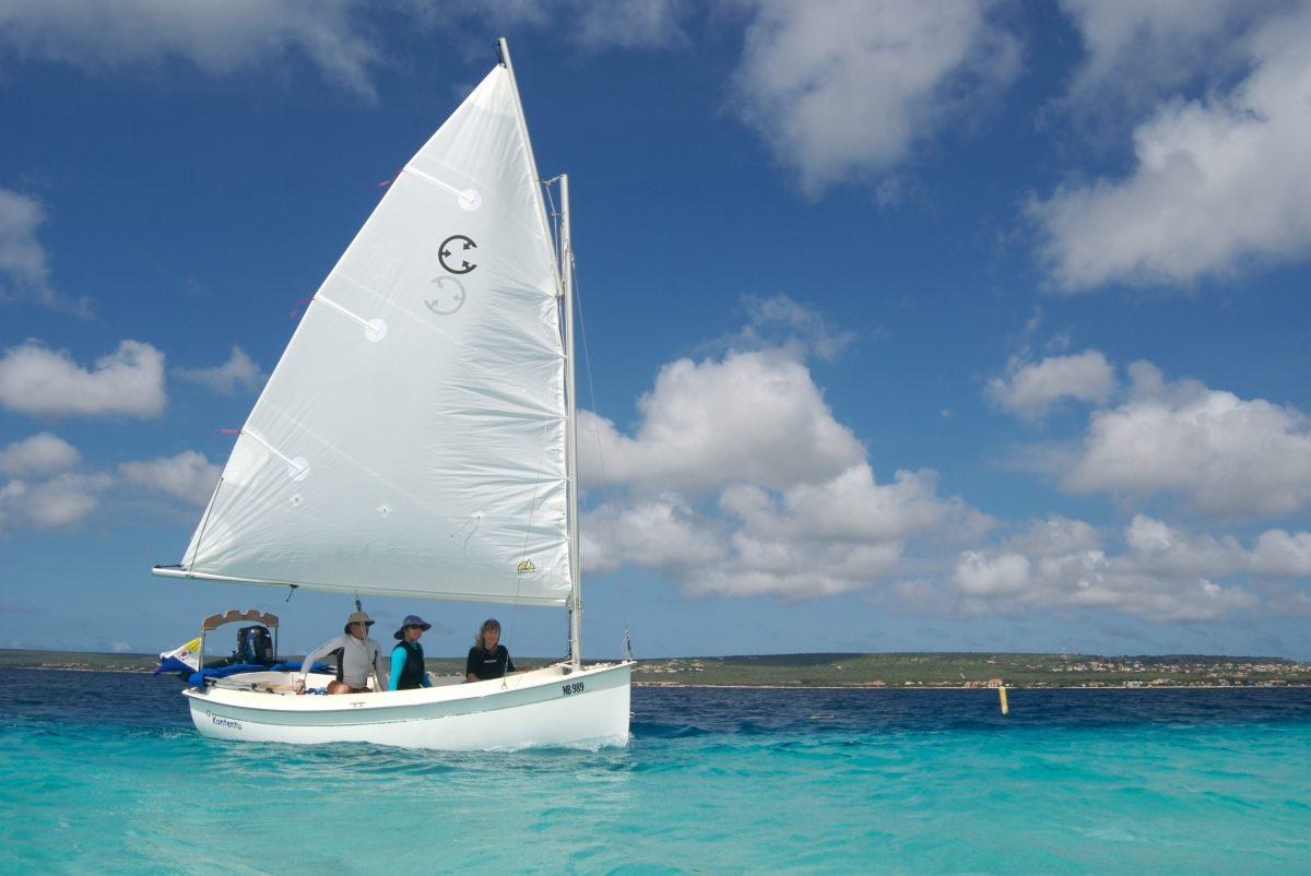 Com Pac Picnic Cat Sailboat By Com Pac Yachts Masthead