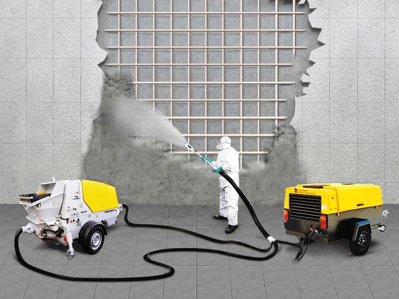 MASTI-K 258 набрызг-бетон сухой