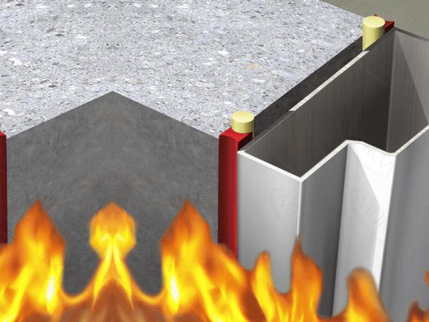 Огнезащитный силиконовый герметик MASTI-K 801