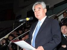Chungwon Choue, Presidente WTF.