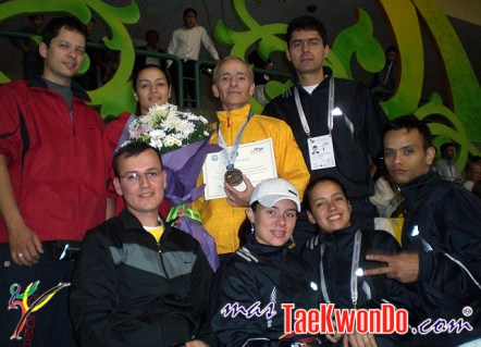 Colombia - Mundial de Pumse 2010, GM. Oskar Posada, Bronce en Master 3.