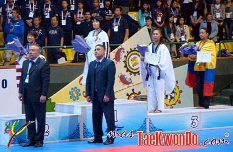 Podium Mundial de Pumse 2010 - Femenino Senior 2.