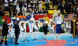 Podium Mundial de Pumse 2010 - Masculino Master 3
