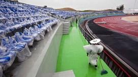 Estadio Omnilife esperando el gran momento.