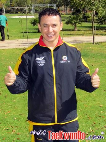 Rene Forero_Equipo Olimpico Femenino de Colombia