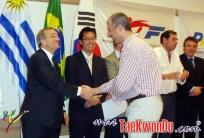 Marcelo Giordano con certificado