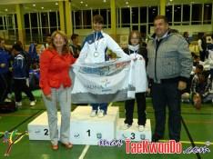 podium cadete femenino -41kg