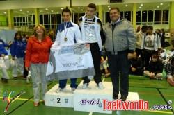 podium cadete masculino +61kg
