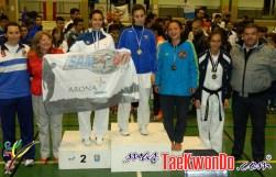 podium junior femenino -63kg
