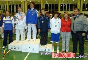 podium junior masculino -55kg