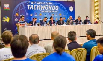 Congresillo técnico del 1er. Campeonato Mundial Cadete de Taekwondo