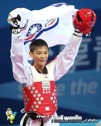 Huang Yu Jen (TPE), M-55 Kg