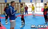 Equipo de Taekwondo de Venezuela en la Loma