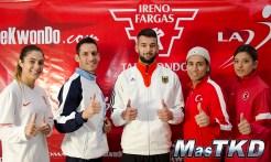 Campeones de Taekwondo en La Loma