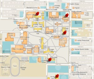 Campus Map Color