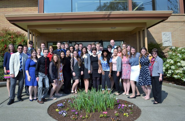 The 2014-15 University Chorale performed throughout Oregon and Washington in their five-day tour.