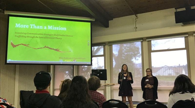 Students present at PLU research symposium