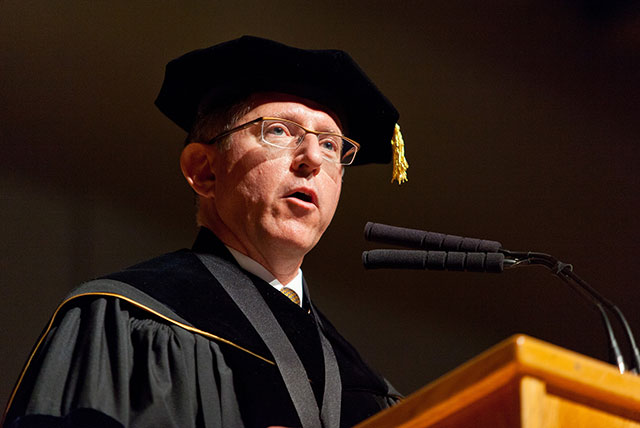 Campus reacts to President stepping down after five years