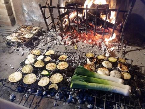 grigliamo anche le verdure