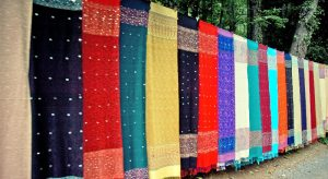 Shawls on the way to Muree