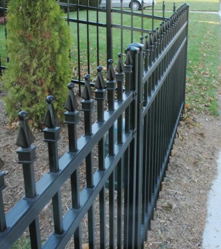 czarne ogrodzenia białystok