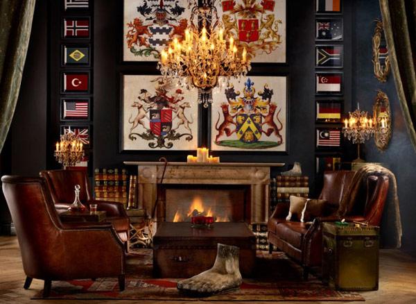 eclectic vintage room designs