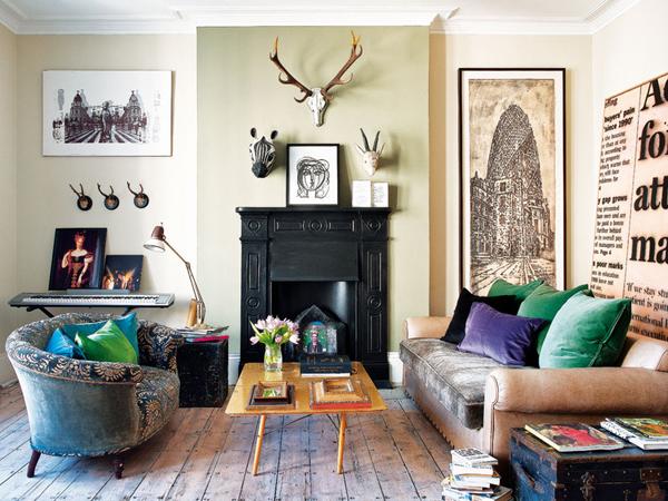 contemporary white leather sofa uk fabrics design an eccentric london refuge in notting hill   bea deza