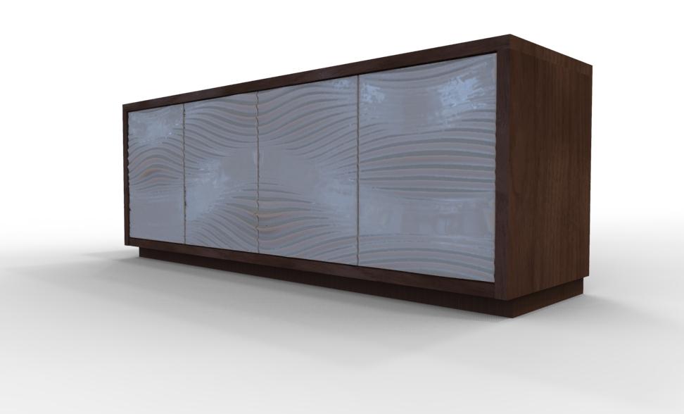 Audio  video cabinet