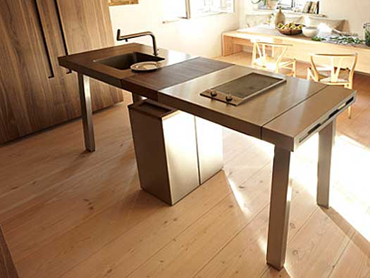 kitchen work station high gloss cabinets b2 workstation by eoos